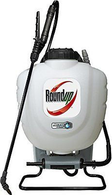 Roundup 190327 No Leak Pump Backpack Sprayer for Herbicides, Weed Killers