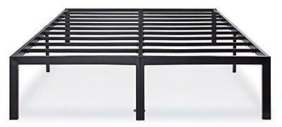 Olee Sleep Heavy Duty Steel Slat Bed Frame T-3000 OL14BF04F Full