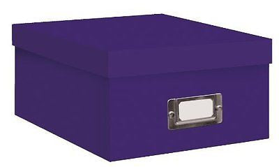 "Photo / Video Storage Box - Holds over 1100 4x6"" Photos or 10 VHS Videos"