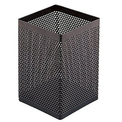 Comix Steel Mesh Pencil Holder ( Black )