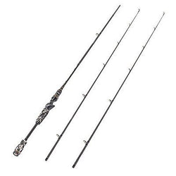 2-Piece Casting Rod Graphite Portable Baitcasting Fishing Rod Baitcast Rod
