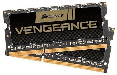 Corsair Vengeance 16GB (2x8GB)  DDR3 1600 MHz (PC3 12800) Laptop  Memory