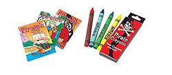 36 Pc Pirate Activity Set ~ 24 Pirate Coloring Books ~ 12 Pirate Crayon Packs ~