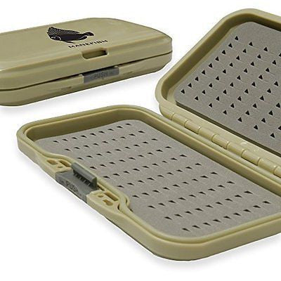 Manefish Fly Box - Slim & Waterproof Fly Fishing Box