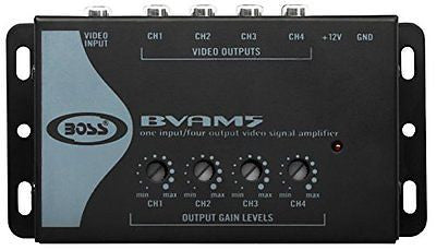 BOSS AUDIO BVAM5  Video Signal Amplifier 4 RCA Outputs