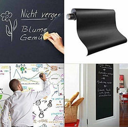 Fancy-fix Blackboard Vinyl Peel and Stick Self Adhesive Chalkboard Wall Sticker