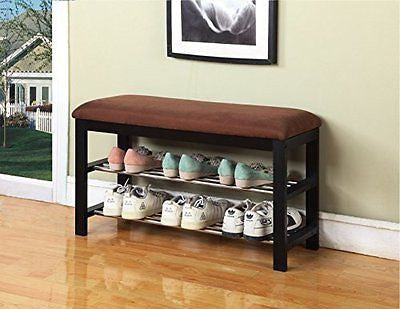 Shoe Rack Organizer Storage Bench Store up to 64 Pairs