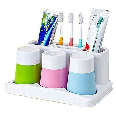 Lingstar Toothbrush Holder Wall Mounted - Durable Stainless Steel Razor Holder