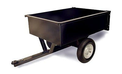 Precision Products 10-Cubic Foot Trailer Dump Cart LDT-1002GY