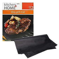 BBQ Grill Mats 100% Non-stick easy to clean and reusable 15.75 x 13
