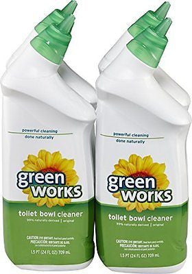 GreenWorks Toilet Bowl Cleaner 96 Ounce