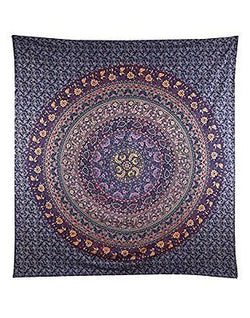Hippie Tapestry, Hippy Mandala Bohemian Tapestries, Indian Dorm Decor