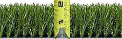 6' x 10' Premium Synthetic Turf Size 46 oz Rubber Backed With Drainage Holes