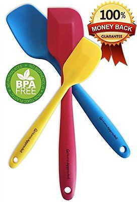 Premium Silicone Spatula Set Food Grade SIlicone Non Stick Kitchen Utensils