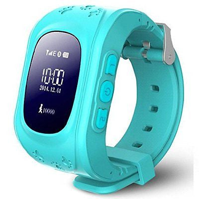 Fullfun Anti-lost Children GPS Tracker Watch Bluetooth a key to SOS distress