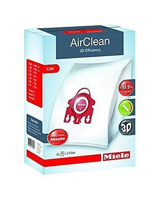 Vacuum Cleaner Bags Type FJM AirClean(4 bags 2 filters)