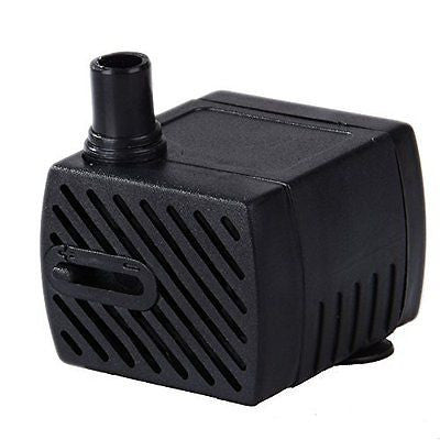 Uniclife 40 - 80 GPH Submersible Pump Indoor Outdoor Water Fountain Pool Pump