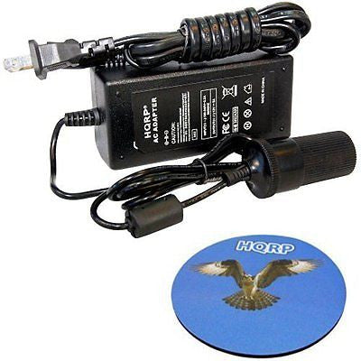 HQRP AC Adapter 110V to 12V 5Amp Converter for Rally Portable 12V Electric