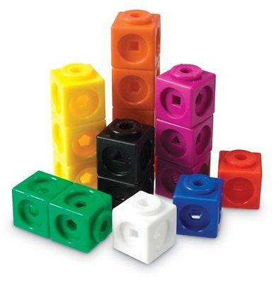 Learning Resources Mathlink Cubes-100
