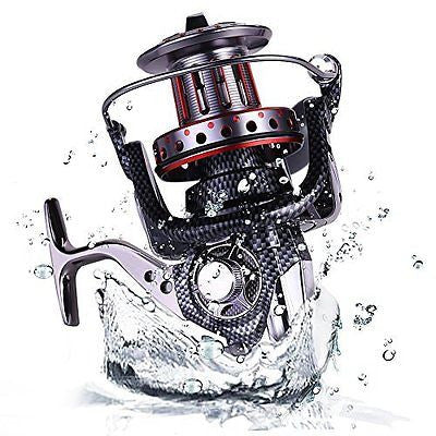 Big Spool Casting Spinning Fishing Reels Saltwater Boat Rock Fishing Reel