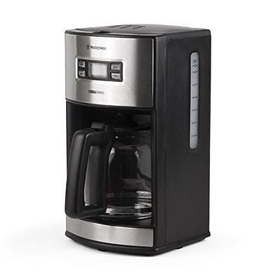 Westinghouse WCM12BSSA Select Series 12 Cup Programmable Coffee Maker, Black