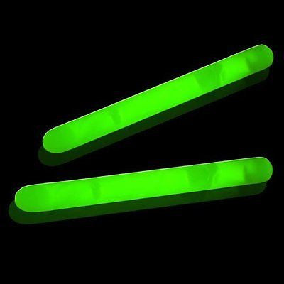 "100 Lumistick 2"" Glow Sticks - Green"