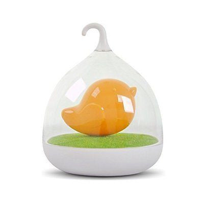 MoonCity Creative Rechargeable Bird Cage LED Lamp Light Intelligent Touch Sensor