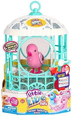 Little Live Pets Bird with Cage, Ruby Belle