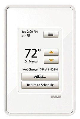Ditra Heat Touchscreen Programmable Floor Heating Thermostat 120v/240v