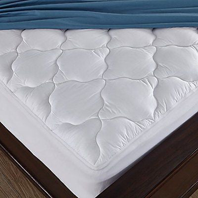 Alternative Mattress Pad/Topper Cotton Top Four-leaf Clovers Pattern Queen Size