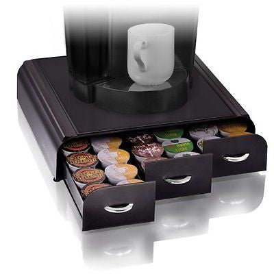 Mind Reader 'Anchor' Triple Drawer Single Serve Coffee Pod holder Black