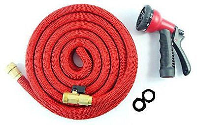 WEEKEND 50% OFF PROMO-50FT HEAVY DUTY Expandable Hose Set with 8 Function