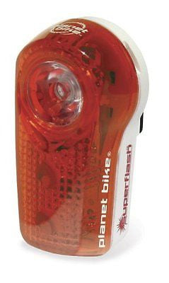 Planet Bike Blinky Super Flash 1/2-Watt Blaze LED Plus 2 eXtreme LED Rear