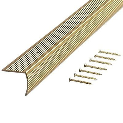 M-D Building Products Fluted 1-1/8-Inch by 1-1/8-Inch by 36-Inch Stair Edging