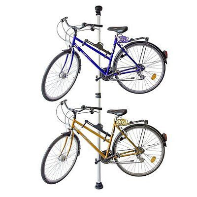 Relaxdays Telescopic Storage Stand For 2 Bicycles