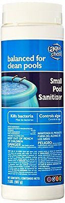 Aqua Chem Small Pool Sanitizer Chlorinating Granules for Swimming Pools 2-Pound