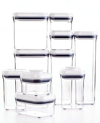 Good Grips 10-Piece POP Container Set White