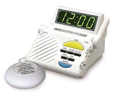 Sonic Alert SB1000ss Sonic Boom Loud Alarm Clock with Built in Receiver and Bed