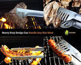 BBQ Grill Accessories Tools Set 20% THICKER STAINLESS STEEL Professional Grade