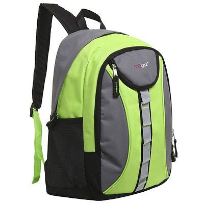 18 Inch Student School Bookbag / Kids Outdoor Sports Backpack / Travel Carryon