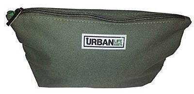 Urban Life Assets Toiletry Bag- Multi-Purpose Canvas Dopp Cosmetic Pencil Bag