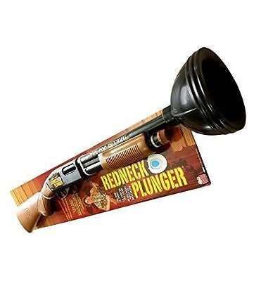 Redneck Plunger Perfect For Father's Day The Ultimate Gag Gift - Fun Gag Gifts