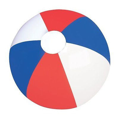 Red White And Blue Beachball Pack of 12
