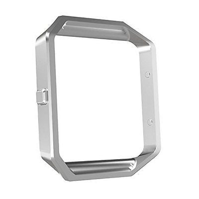Fitbit Blaze Watch Accessory, MoKo Stainless Steel Replacement Metal Frame