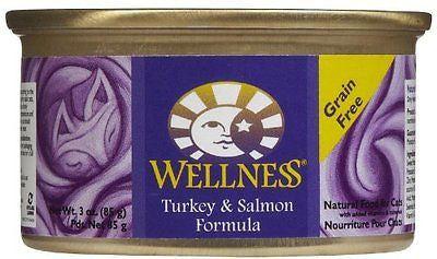 Wellness Complete Health Natural Grain Free Wet Canned Cat Food - Turkey