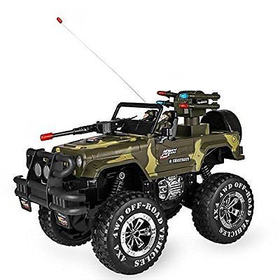 SZJJX 1:10 Remote Control Car 4WD Shaft Drive Truck Large Four-wheel Drive