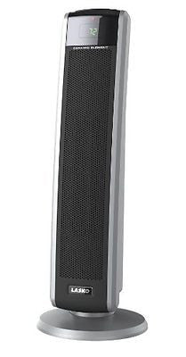 Lasko 5586 Digital Ceramic Tower Heater with Remote