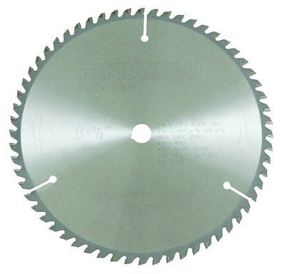 Hitachi Tungsten Carbide Tipped 8-1/2- ATB 5/8-Inch Arbor Finish Saw Blade
