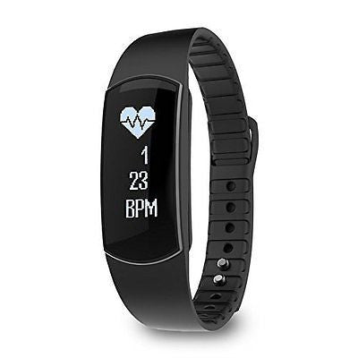 Comcome Waterproof Touch Screen Heart Rate Monitor and Activity Tracker