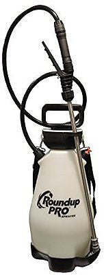 Roundup PRO 190410 2-Gallon Sprayer for Applying Fertilizers, Weed Killers